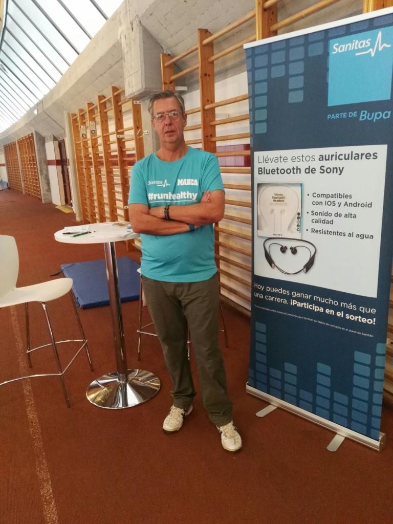 Grupo naviser en la sanitas marca running series for Oficinas de sanitas en madrid